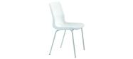 Plaststole. Ana stol hvid er en billig god plaststol til kantine, forsamlingshus, festlokaler  m.m. Fabrikken yder 5 års garanti på Ana stole.