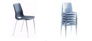Plaststole. Ana stol er en meget populær plaststol, som fås i mange farver og er stabelbar. Fabrikken yder 5 års garanti på Ana stole.