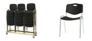 Plaststole Luxus plast er en billig god plaststol til kantine, forsamlingshus, festlokaler  m.m.