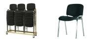 Plaststole Luxus med polster velegnet til konference.