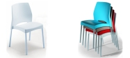 Plaststole Plop er en plaststol som er velegnet både til inde-og udendørs brug.