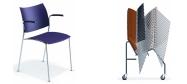 Plaststole Sela M4 er en plaststol i den dyrere ende af prisskalaen og der er særlig velegnet som konferencestol.