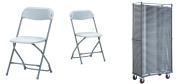Plaststole Zown grå er en klapstol som kan bruges inde-og udendørs.